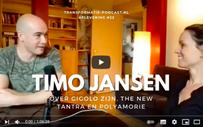 Podcast with Timo Jansen about being gigolo, The New Tantra and polyamory