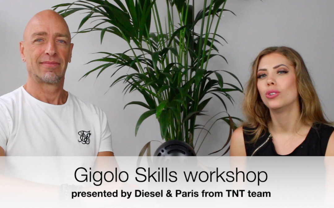 Gigolo Skills workshop presentation